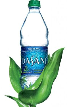 Dasani's Green Bottl