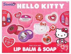 Hello Kitty Lip Balm & Soap Making Kit Girls Creative Educational Christmas Gift #HelloKitty