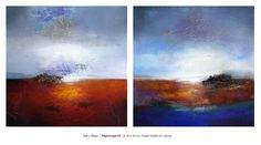 Eelco Maan I Pilgrimage I/II, 2x 50 x 50 cm / Available for purchase at Studio Eelco Maan. Contact me on ejmaan@xs4all.nl