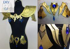 DIY Princess Zelda Armor by Lillyxandra.deviantart.com