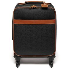 Mulberry Four Wheel Trolley ($1,280) ❤ liked on Polyvore featuring bags and luggage