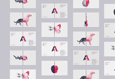 weandthecolor: Agency One Brand Identity Moscow,... | Must be printed
