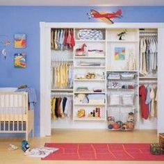 traditional closet Bedroom Closet