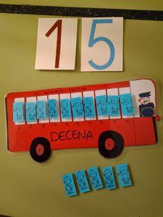"""hago y comprendo: El autobús """"decena"""""""