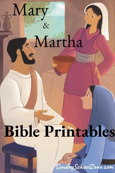 Mary and Martha (sisters to Lazarus) Archives