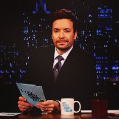 Jimmy Fallon. #FuzzyFallon