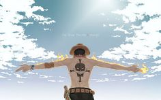 Portgas D. Ace - One Piece Wallpaper One Piece Manga, Ace One Piece, One Piece Chapter, One Piece Luffy, One Piece Wallpaper, Hd Wallpaper, One Piece Tattoos, One Piece Images, Monkey D Luffy