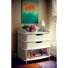 Cool Midcentury Modern Sodura Sodura Aero Dresser/Changing Table, Blonde, Wood