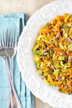 Brussel Sprout-Sweet Potato Hash