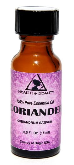 Coriander Essential Oil Aromatherapy 100% Pure 0.5 oz, 15 ml ^^ Remarkable product available now. : rose essential oil