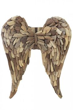 Driftwood Angel Wing