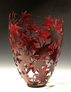 Custom Japanese Maple Leaf Vessel by Rob Glebe Design | CustomMade.com