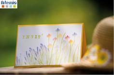 diy flower shabby chic spring easter scrapbook invitation