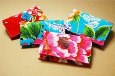 Hakka fabric card holder