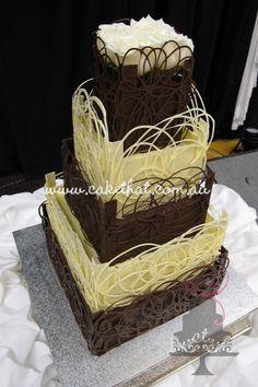 Five Tier Chocolate Creation
