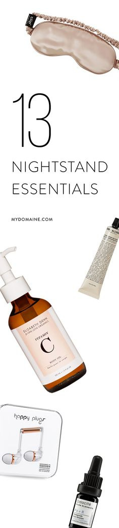 Nightstand essentials: 13 items every women should have on her nightstand, including ED4OLO Vitamin B Cleansing Oil!