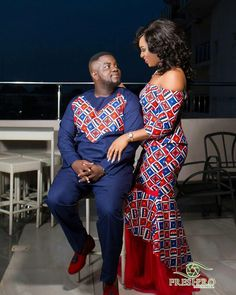 The Best Family Ankara Styles Mix Looking for the best ankara outfit that will be ok for your family? worry no more because we here at ANKARA XCLUSIVE gathered some lovely family collections of ankara styles. Couples African Outfits, Couple Outfits, African Attire, African Wear, African Women, African Style, African Shirts, African Print Dresses, African Fashion Dresses