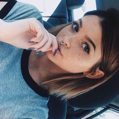 "rosiecheeksandfreckles:: ""Ello, i'm Constance."" i giggle. ""i'm 18 and i'm totally single."" i wink teasingly. ""i'm an only child and i love love love food! come say hi...if you want."""
