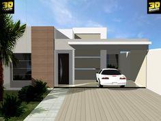 Resultado de imagem para casa moderna terrea