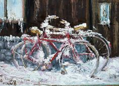 """Bicycles"" by Stanislav Zhejbal"