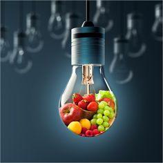Fruitige peer - lichtvitamientjes -  licht blijkt gezond te zijn!
