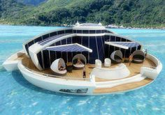 Awesome boat via I love creative designs and unusual ideas on Facebook