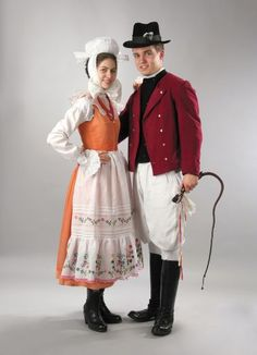 Poland- Great Poland- Biskupin district- Folk costume