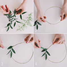 Brides: How to Wear and DIY a Flower Crown for Your Wedding