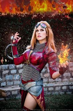 Cosplayer: LadyLemonCosplay Character: Chandra Nalaar From: Magic the Gathering
