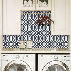 trellis-pattern-navy-fabric-removable-wallpaper