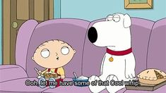 No more Cool wHip...Family Guy