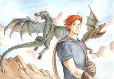 Charlie Weasley from Harry Potter | Aromantic Aardvark