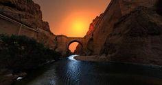 Sunset near Biskra, Algeria photo by Mohamed.Merzoug