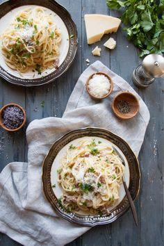 Pasta Carbonara ~Quick & Simple~ - The Kitchen McCabe
