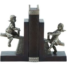 Seesaw Bookend Set