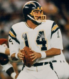 Dan Fouts WAS and ALWAYS will be THE MAN here in San Diego! Them were the days!!!