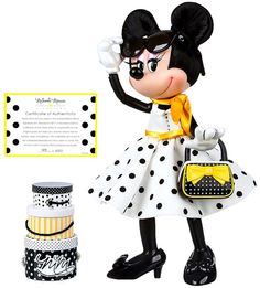 Minnie Mouse Doll, Disney Mickey Mouse, Disney Signatures, Olivia Hussey, Studio 54, Hat Boxes, Heart For Kids, Signature Collection, Dolls