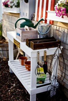 Oppottafel - potting bench