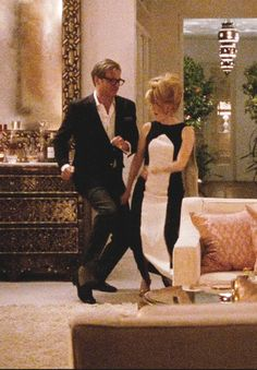 "supermodelgif: "" Julianne Moore & Colin Firth in A Single Man """