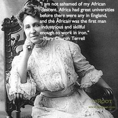 Best Black History Quotes: Mary Church Terrell on Africa