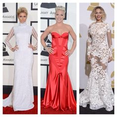 My Eye on Fashion - Best Dressed at @The GRAMMYs. Look One - @Paris Hilton in @HausofMilani by @xtinamilani. Look Two - #Pink in @_johannajohnson, @brian_atwood and @RAUWOLFNYC. Look Three - @Laura Wanefalea in @michaelcostello31. #bestdressed #redcarpet #thegrammys #grammys2014 #ParisHilton #Pink #Beyonce #Yonce #HausofMilani #JohannaJohnson #MichaelCostello #ootd #ootdmagazine #celebrity #fashion #style #instastyle #instafashion #myeyeonfashion