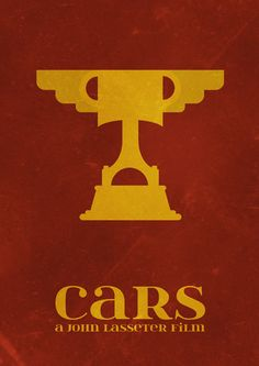 Cars (2006) ~ Minimal Movie Poster by Matt Bacon