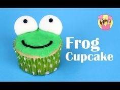 FROG CUPCAKES - make cute froggy cupcakes - Charli's Crafty Kitchen