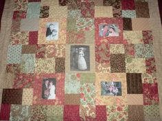 50th anniversary quilt | ... Quilt. I made this for my parents-in-law 50th wedding anniversary