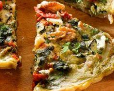 Quiche légère à l'italienne aux épinards, tomates séchées et noix : http://www.fourchette-et-bikini.fr/recettes/recettes-minceur/quiche-legere-litalienne-aux-epinards-tomates-sechees-et-noix.html
