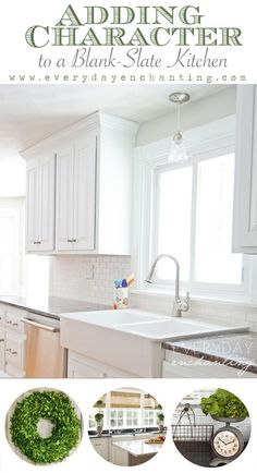 Kitchen Decor Plans: Adding Character to Our Blank-Slate Kitchen Pt.1