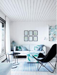 Galleri: Bolig - Fra retro-sommerhus til sort/hvid perle | Femina