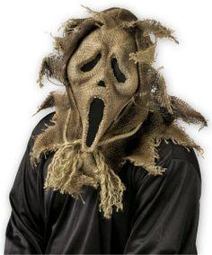 Máscara Scream Espantapájaros   Disfraces Originales