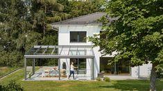 Mit Solarlux vom Terrassendach zum Glashaus - Solarlux Atrium, Gazebo, Pergola, Solar, Glass House, New Kitchen, Canopy, Outdoor Structures, Patio