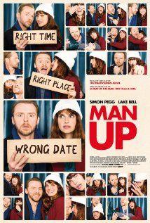 冒牌情緣Man Up (2015) _ 女主角完全不是我們的菜,哈哈哈哈從頭到尾都因為女主角有點無法入戲。 #201510 #布比